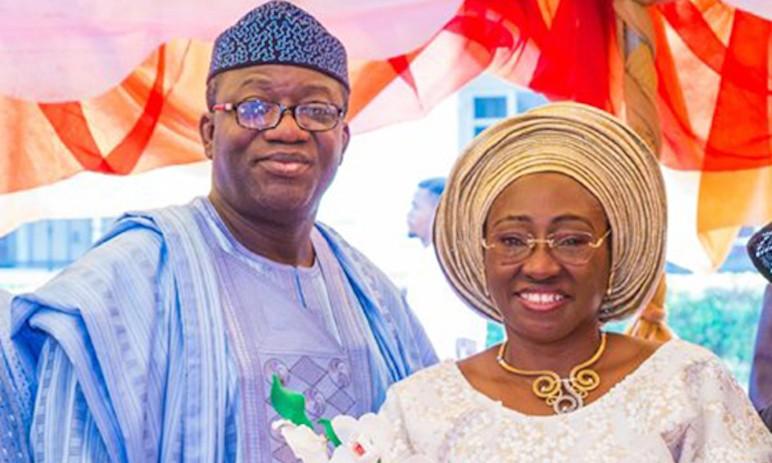 Mr and Mr Kayode Fayemi