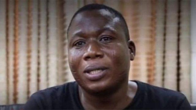 Sunday Igboho (Credit: BBC)