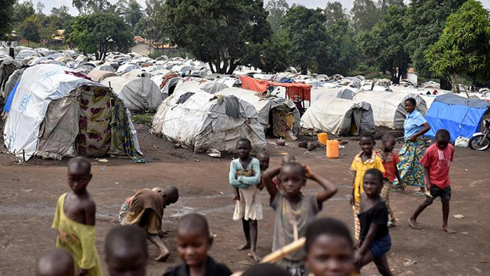 Refugee Camp in Congo