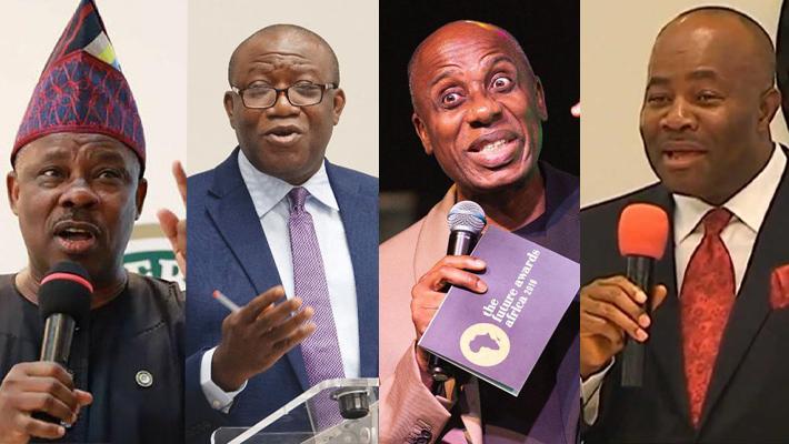 Amosum, Fayemi, Amaechi and Akpabio