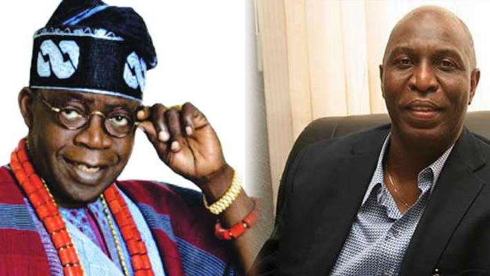 Bola Tinubu and Sam Omatseye