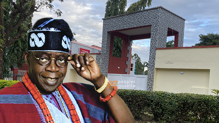 Bola Tinubu's secures 2,700 square metres property on the northeast corner of Maitama.