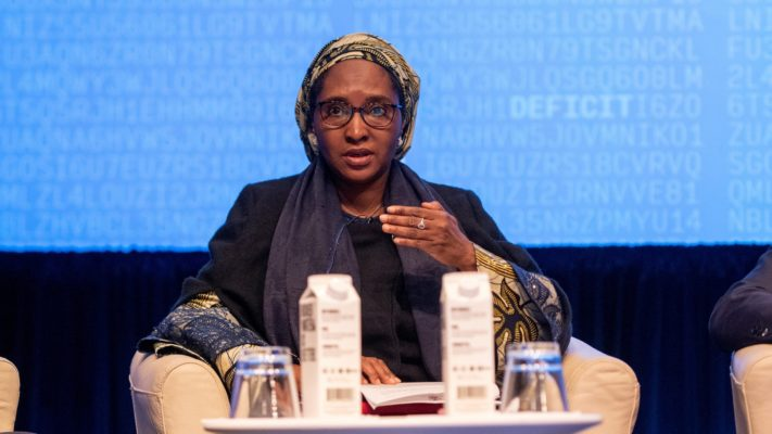 Finance minister Zainab Ahmed (Credit: Twitter)
