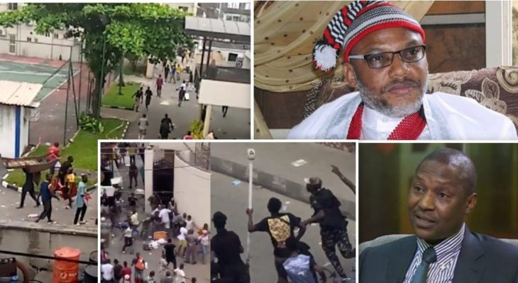 IPOB: Malami lied, documents show 15 suspects charged with burning Oba of Lagos palace are Yoruba
