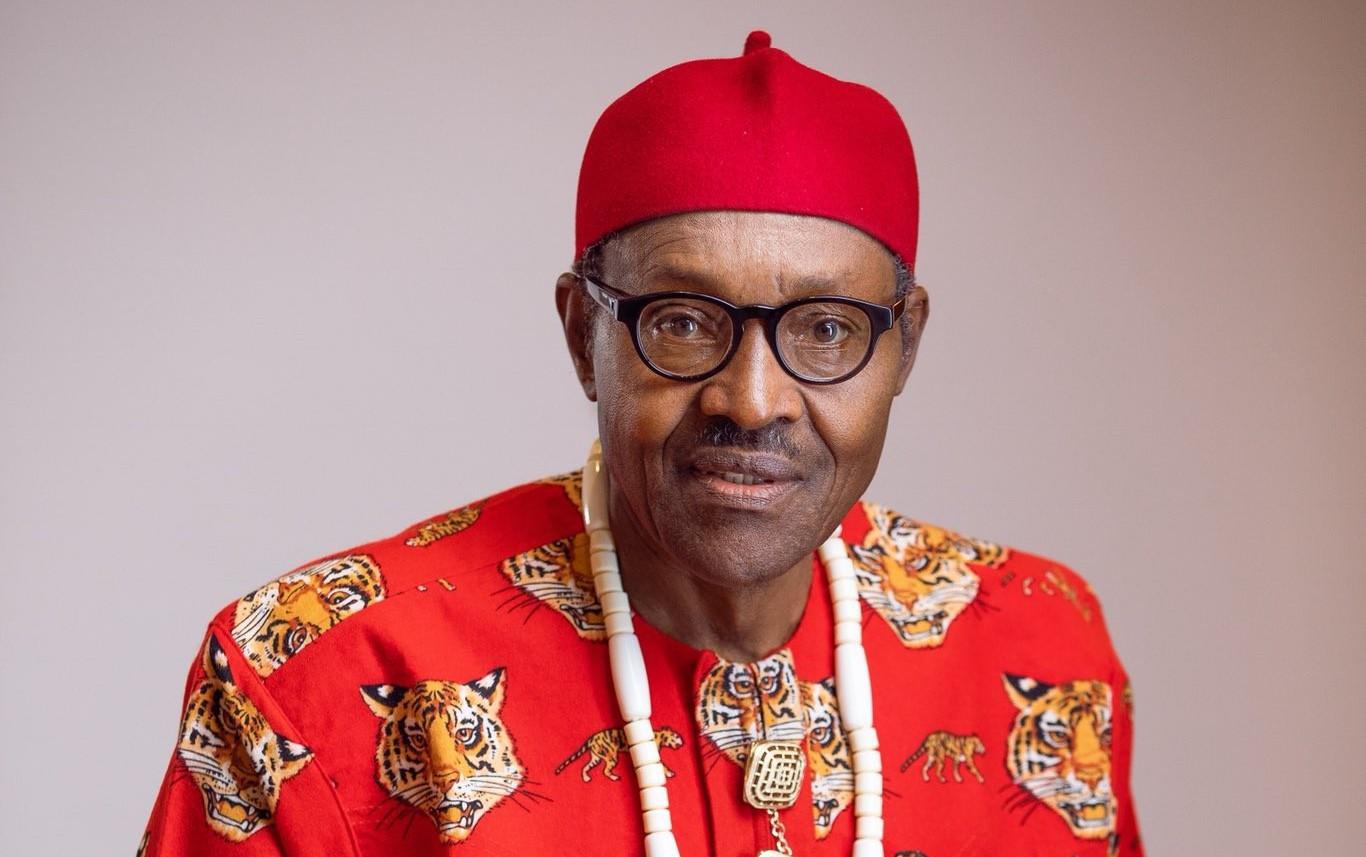 President Muhammadu Buhari in Igbo dress