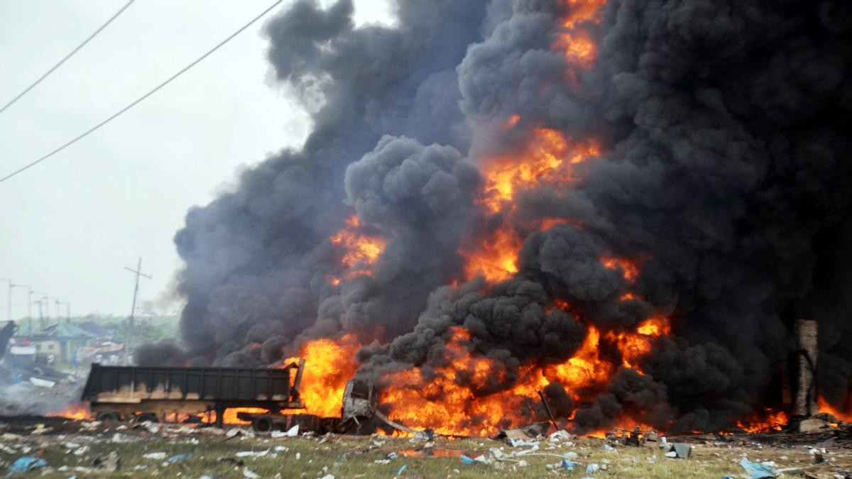 Photo of an explosion used to illustrate this story
