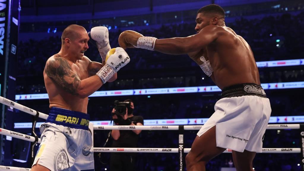 Usyk defeats Anthony Joshua