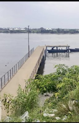 A photo of the jetty before collapse taken on the 22 of May 2021
