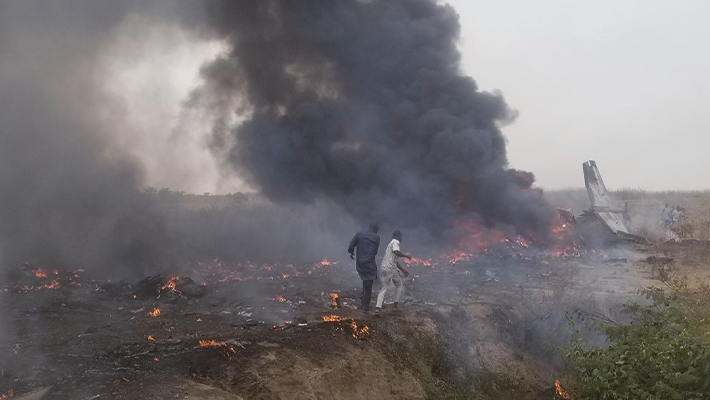 Abuja plane crash