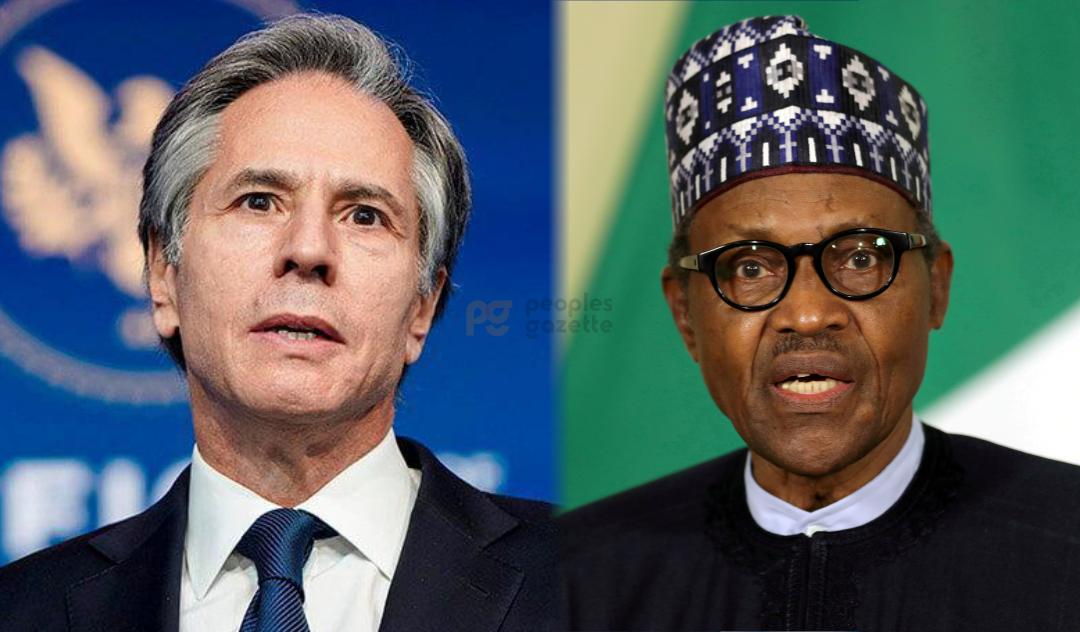 Antony John Blinken and Buhari
