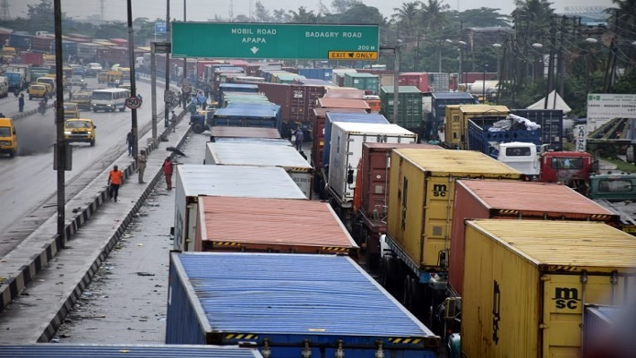 Apapa gridlock used to illustrate the story.