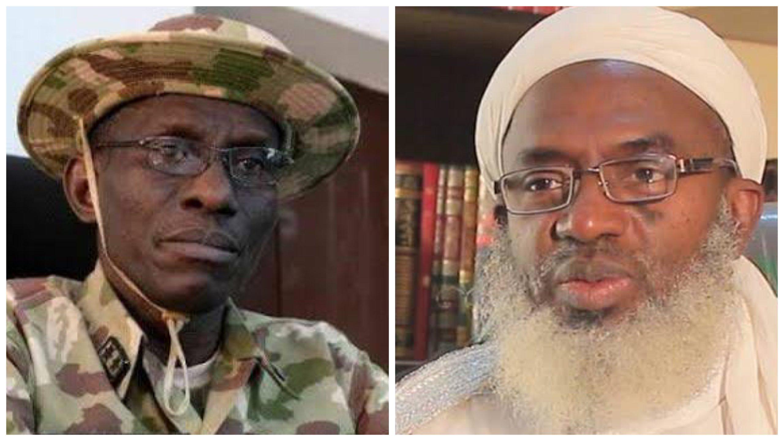 General Lucky Irabor and Islamic scholar Ahmad Gumi
