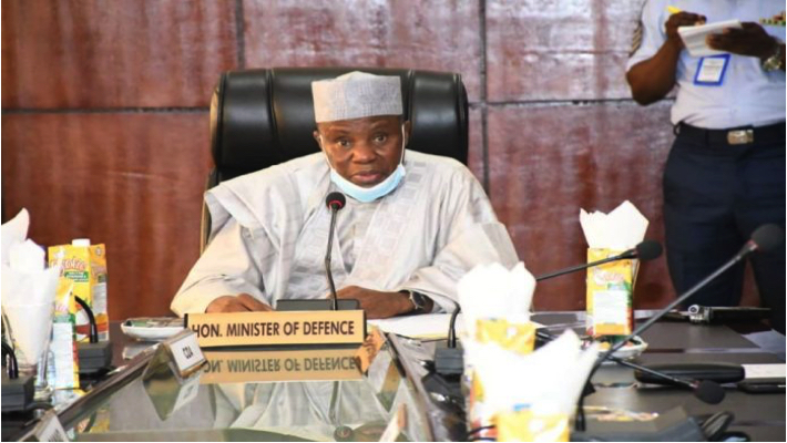 Minister of Defence, retired Major-General Bashir Magashi