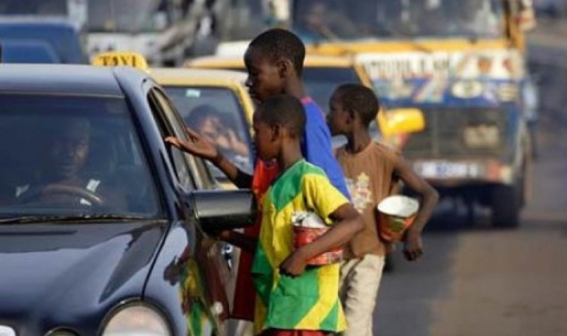 Children beggars