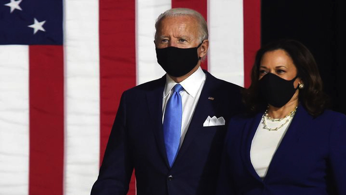 Biden and Kamala