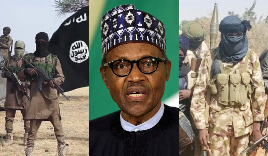 Boko Haram, President Muhammadu Buhari, and Bandits