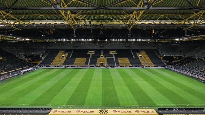 Dortmund stadium used