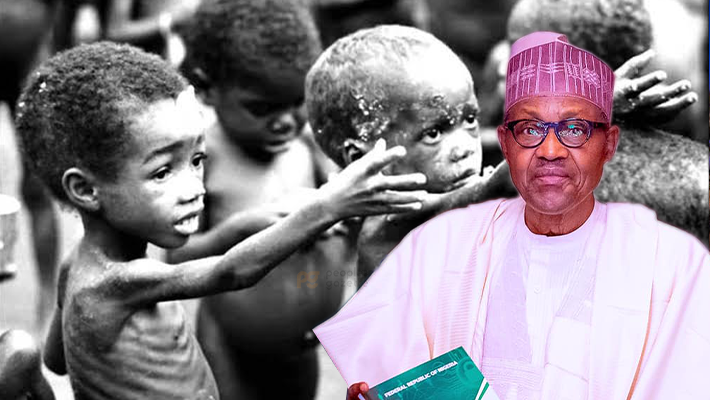 Buhari and the malnutrition kids of the civil war