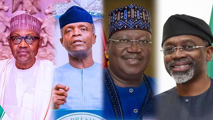Buhari, Osinbajo, Lawan and Gbajabiamila