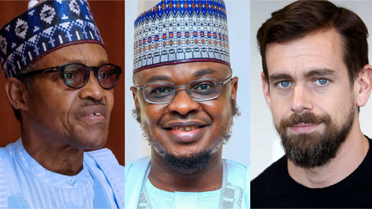 Buhari, Pantami, and Jack Dorsey