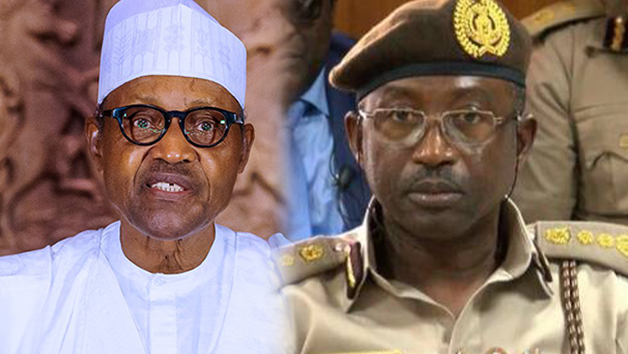 Buhari and Babandede