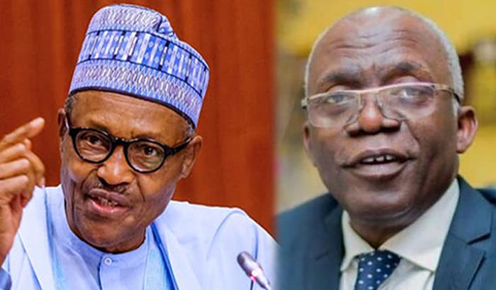 Buhari and Falana