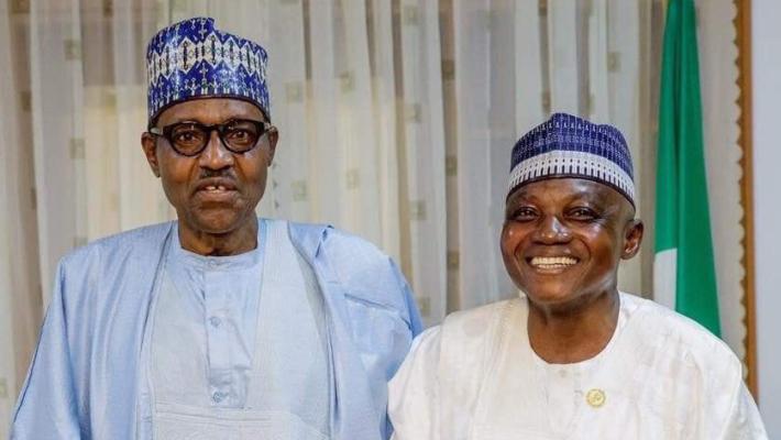 Muhammadu Buhari and Garba Shehu