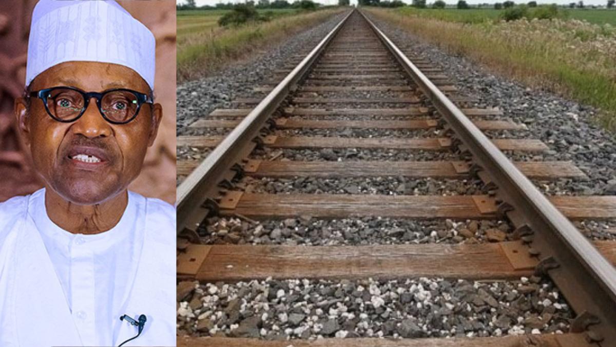 Buhari and railway