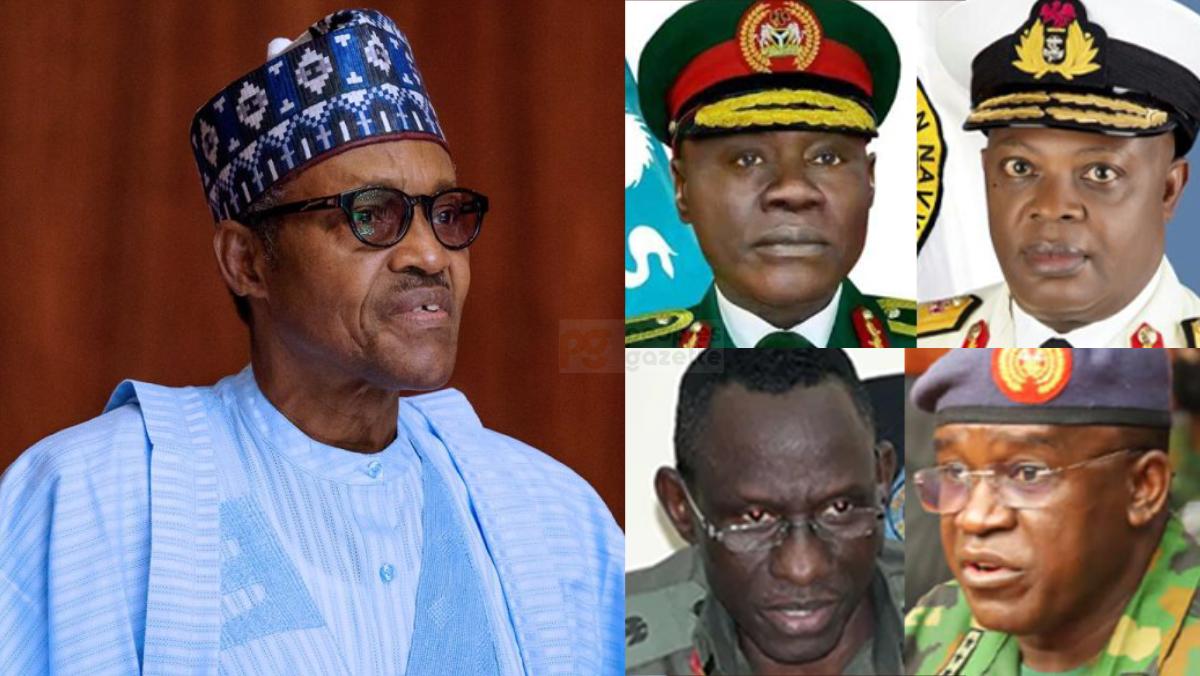 Buhari and service chief