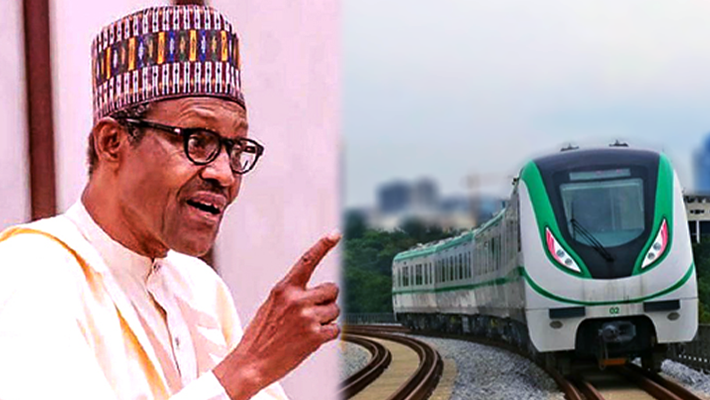 Buhari and train