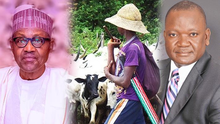 Buhari, herdsmen and Ortom