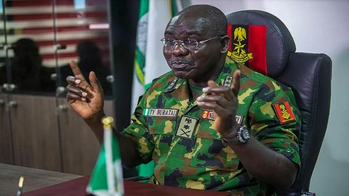Chief of Army Staff, Tukur Yusuf Buratai. [CREDIT: Thisday]