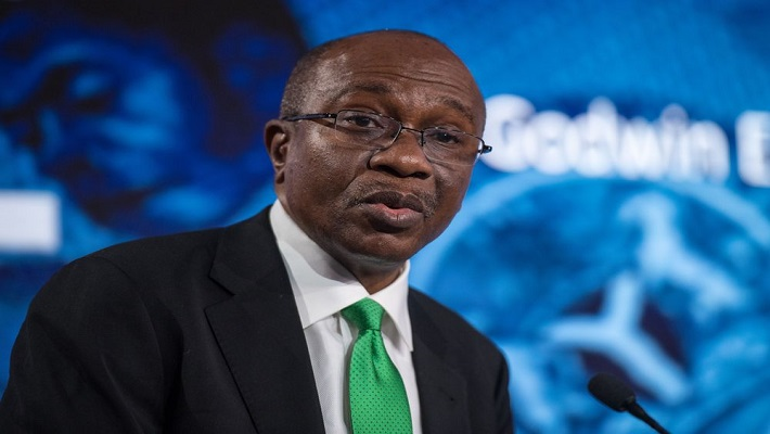CBN Governor, Godwin Emefiele. [CREDIT: Bloomberg]