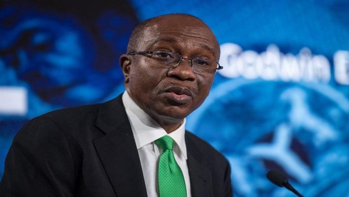 CBN Governor, Godwin Emefiele. [CREDIT: Bloomberg]