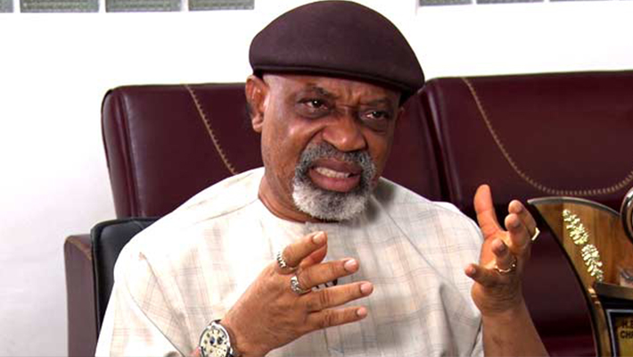 Labour minister Chris Ngige (Credit: Punch Newspaper)