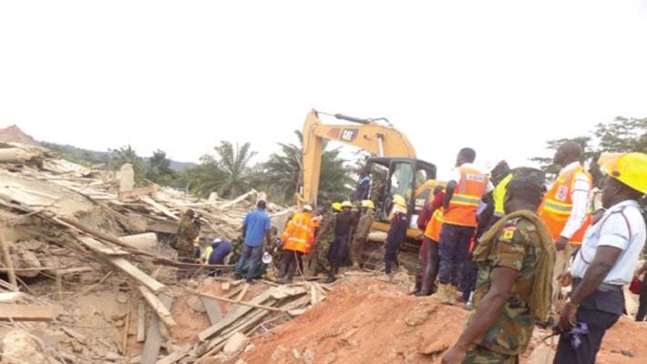 Church collapses in Ghana