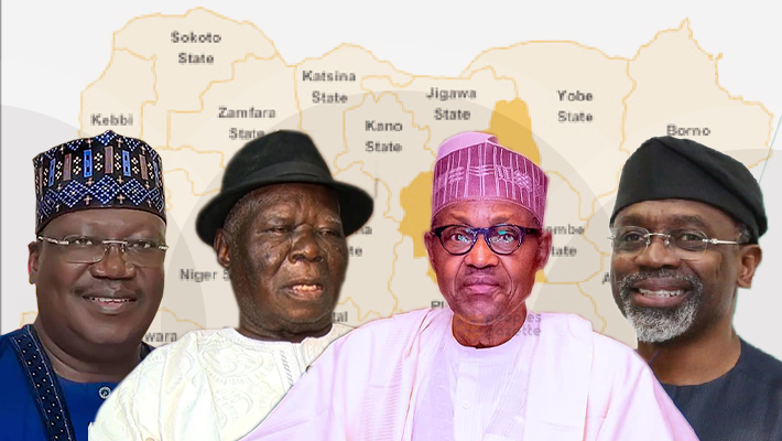 Clark, Buhari, Gbaja and Lawan