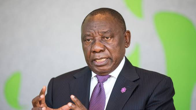 South African president, Cyril Ramaphosa (Credit: Bloomberg