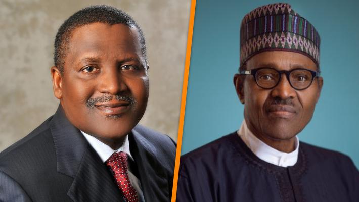 Dangote and Buhari
