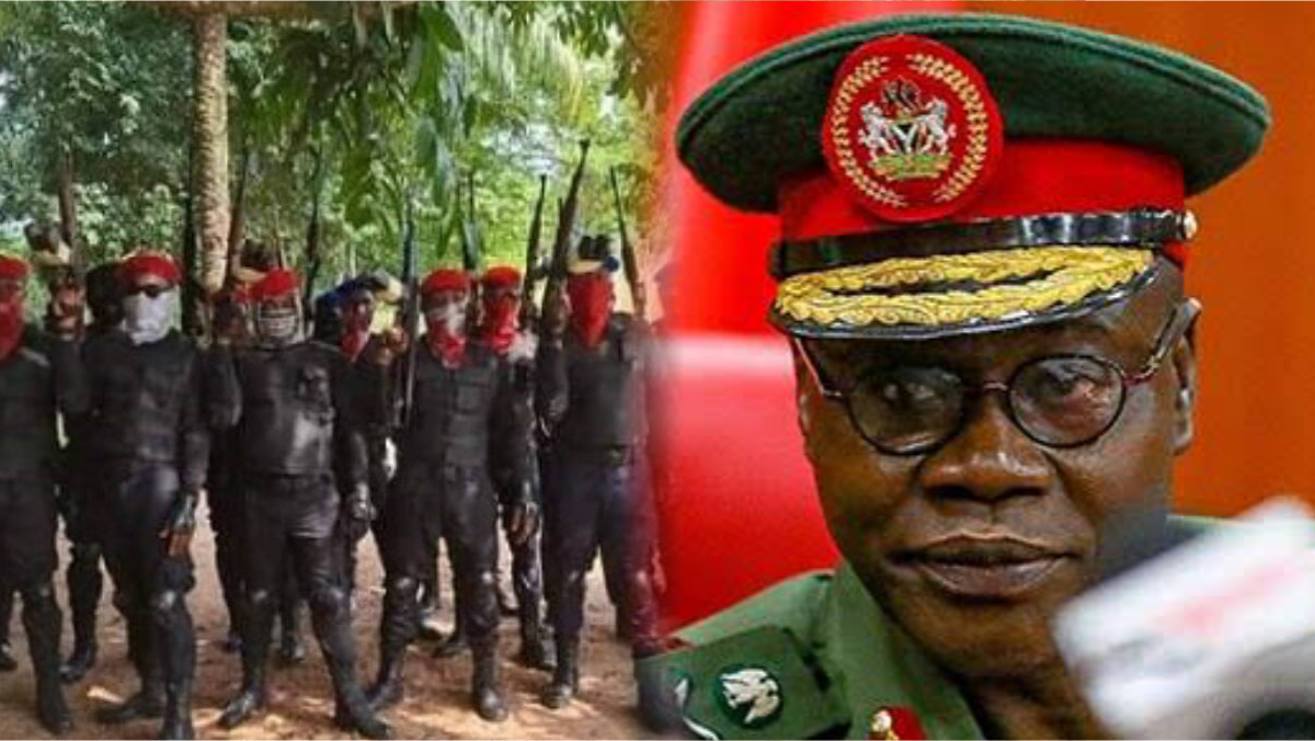 Eastern Security Network (ESN) and Chief of Army Staff (COAS), Major-General Farouk Yahaya