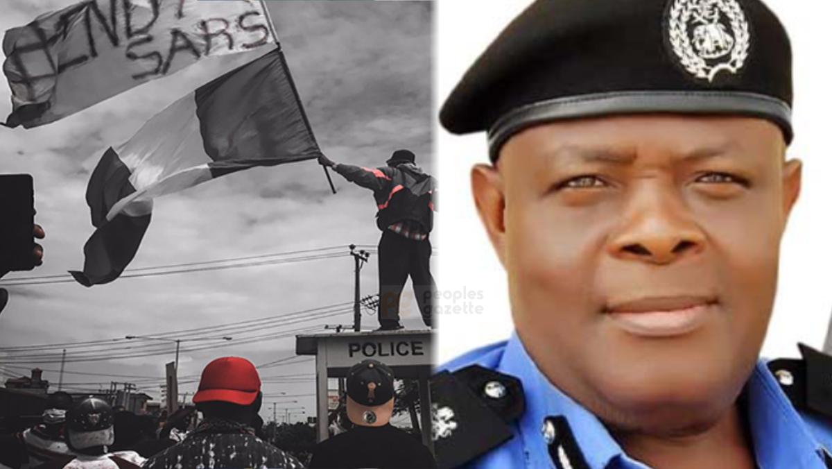 #EndSARS protest and Ondo Police Commissioner, Salami Bolaji