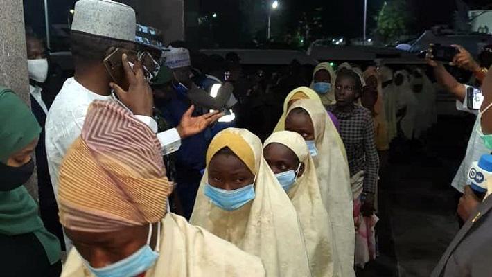 Abducted Jangebe schoolgirls