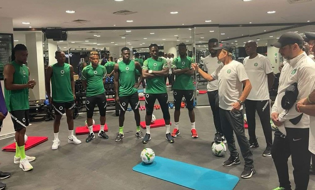 Super Eagles and Rohr