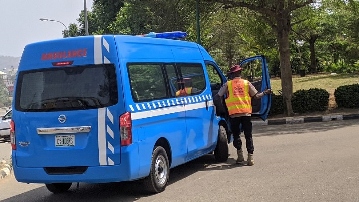 Federal Road Safety Corps on duty