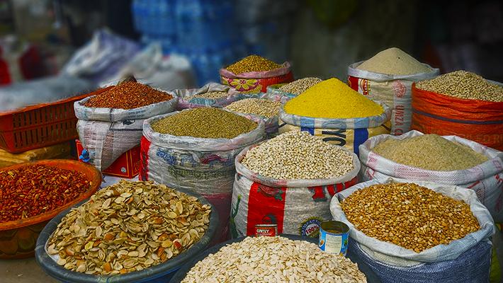 Food Items at Utako Market, Abuja (Credit: Ahmed Oluwasanjo)