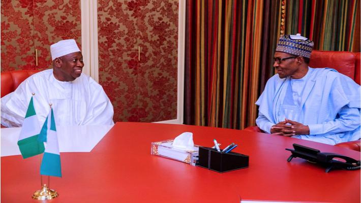 Ganduje and Buhari