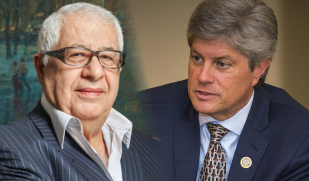 Gilbert Chagoury and Jeff Fortenberry