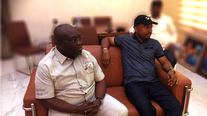 Governor Ikpeazu and Enyinnaya Nwafor