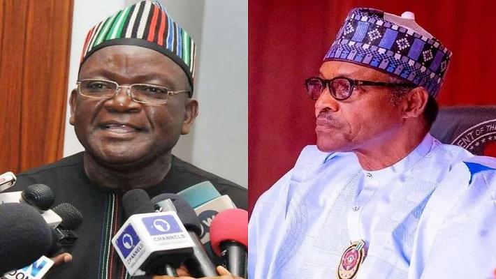 Governor Ortom and President Buhari