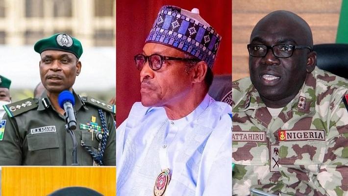IGP, Buhari and COAS
